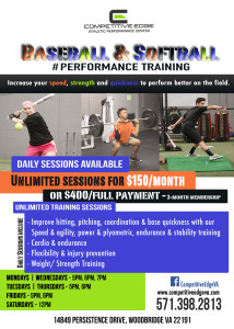 Baseball Softball Training 2017