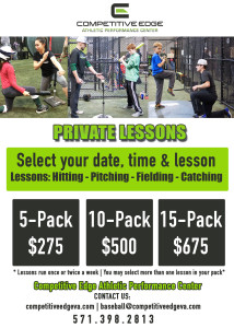Dena Private Lessons Flyer