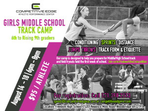 Girls Track Camp 2017