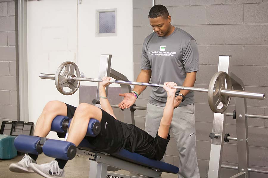 Competitive Edge Facility: Our Weight Training Room is Seriously Heavy