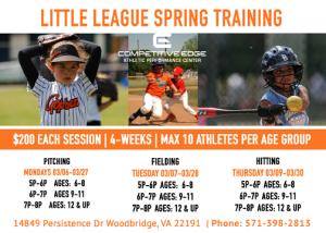 Little league spring