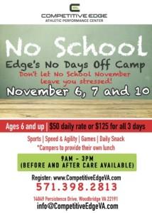 No School November 17