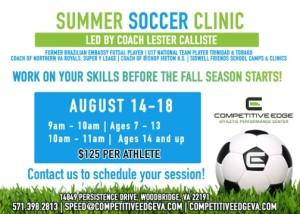 Summer Camp - Soccer 2017