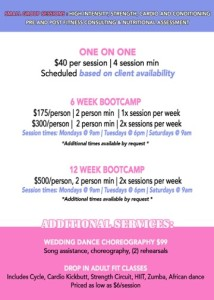 competitive bridal bootcamp back