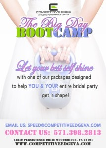 Competitive bridal bootcamp front #2