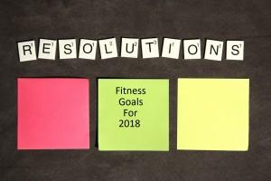 Fitness Goal Setting For 2018